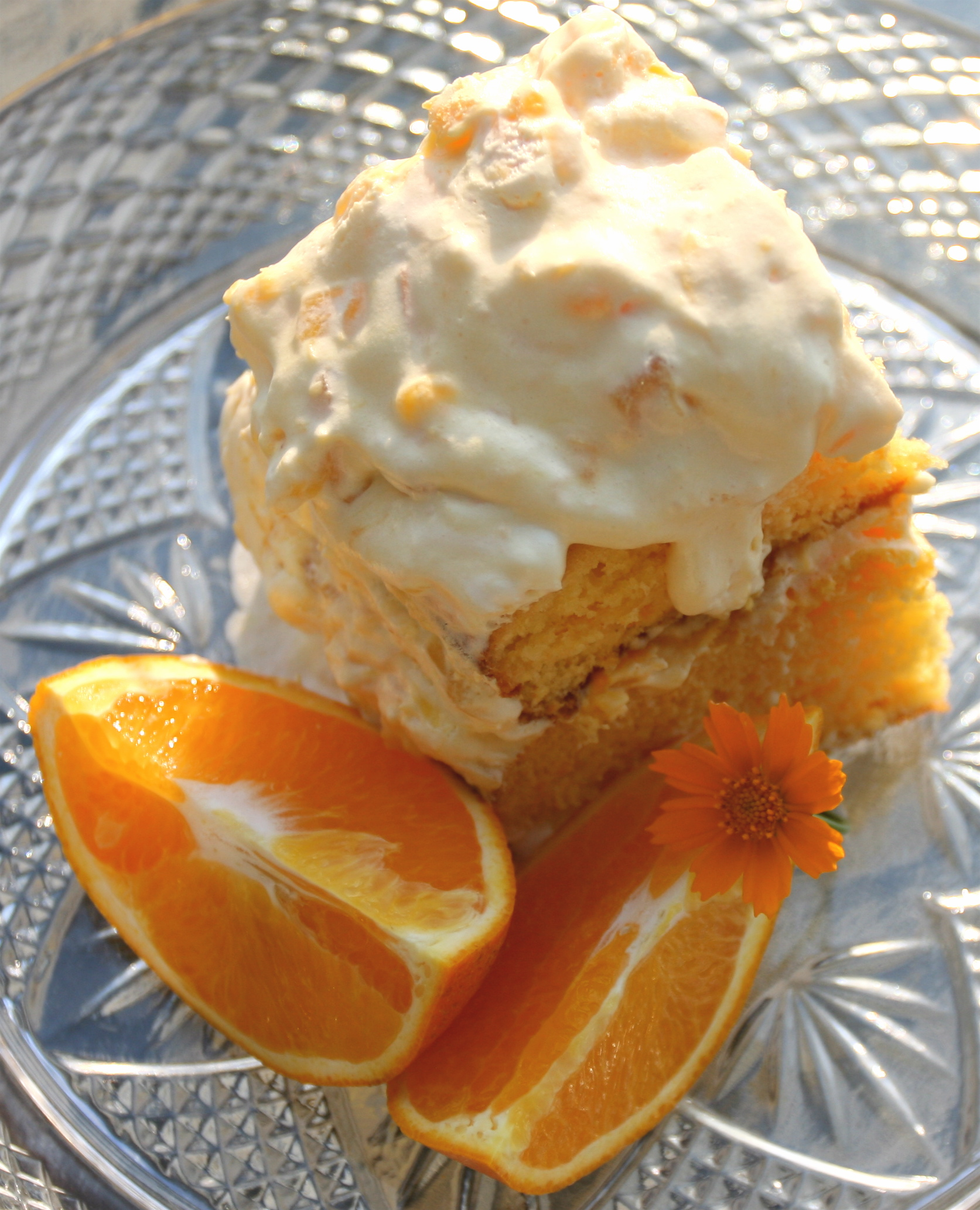 Pineapple Orange Cake: Pineapple-Orange Sunshine Cake
